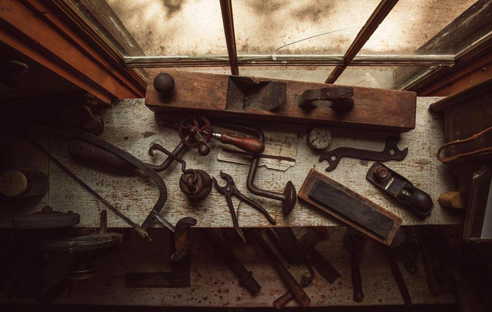Cuidado de herramientas