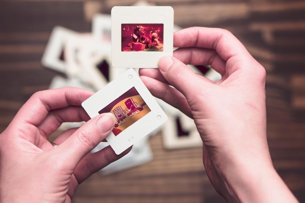 fotos antiguas polaroid diapositivas guardatodo