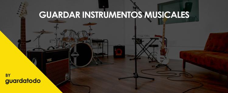 guardar instrumentos de musica en zaragoza guardatodo