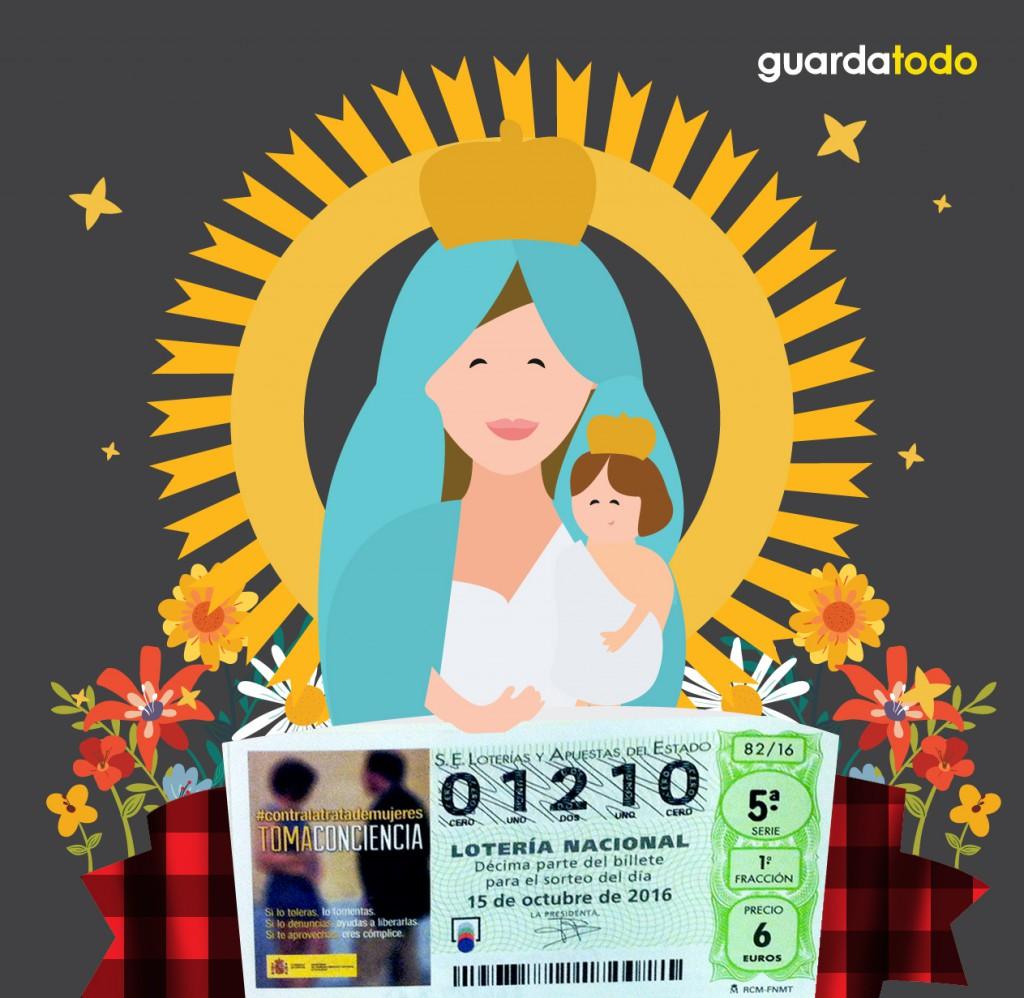 sorteo fiestas del Pilar Zaragoza Guardatodo