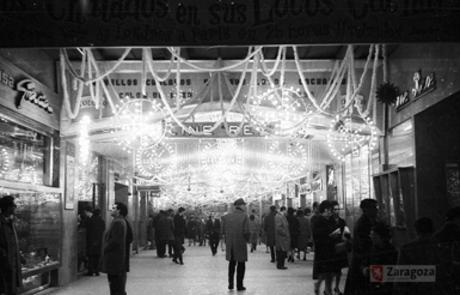 Zaragoza iluminación Navideña