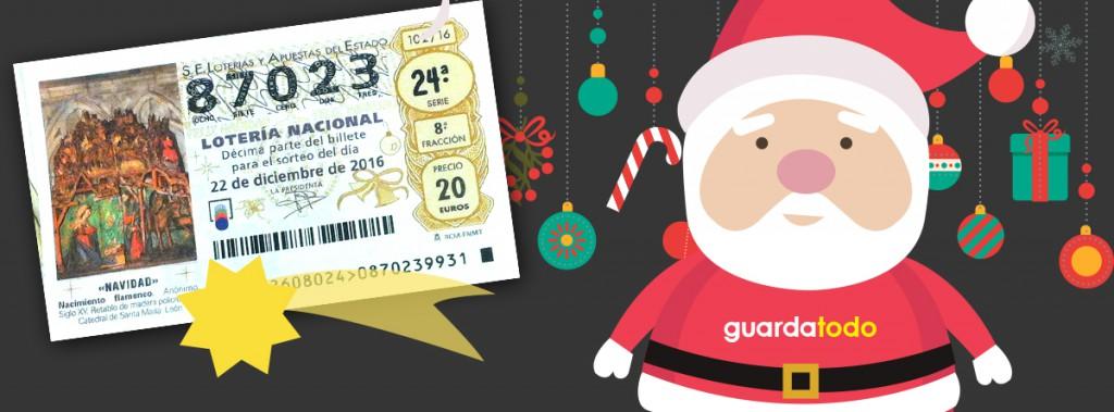 sorteo loteria de navidad guardatodo 2016