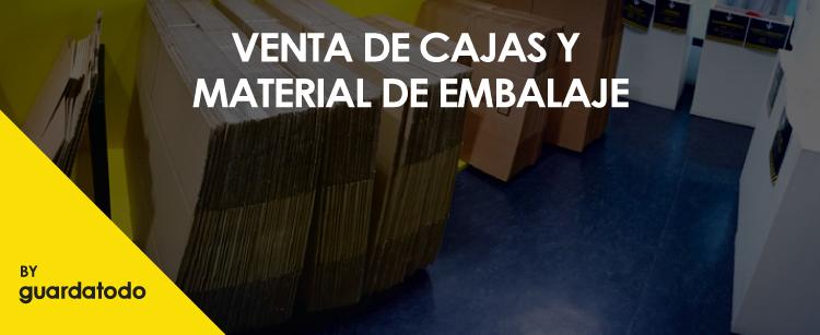 Venta de cajas en Zaragoza