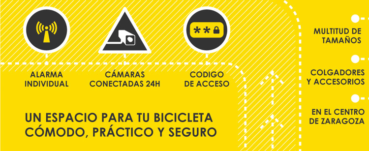 parking bicis zaragoza guardatodo sagasta