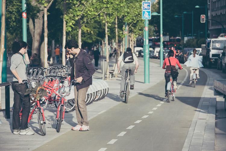 Donde aparcar la bicicleta en Zaragoza Centro-1