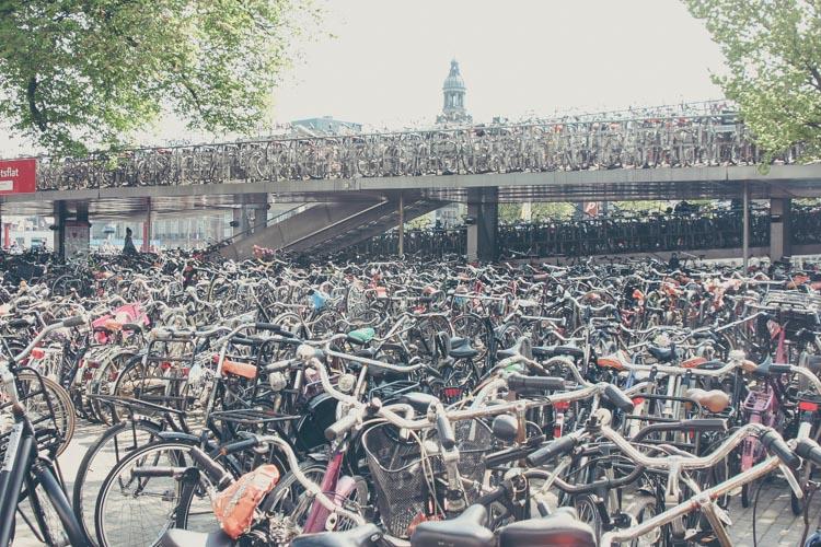 Donde aparcar la bicicleta en Zaragoza Centro-2