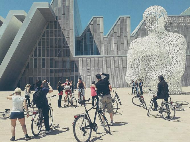 Donde aparcar la bicicleta en Zaragoza Centro-7